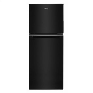 Whirlpool24-inch Wide Top-Freezer Refrigerator - 11.6 cu. ft. Black