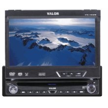 "AM/FM/CD/DVD 1DIN In-Dash Fully Motorized 7"" Touch Screen LCD"