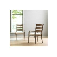 High Line by Rachael Ray Ladder Back Arm Chair Product Image