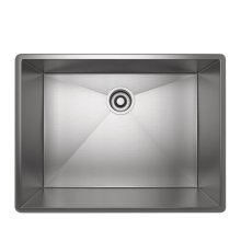Brushed Stainless Steel ROHL Single Bowl Stainless Steel Kitchen Sink