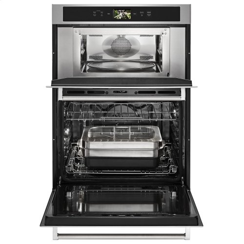 "Smart Oven+ 30"" Combination Oven with Powered Attachments Stainless Steel"