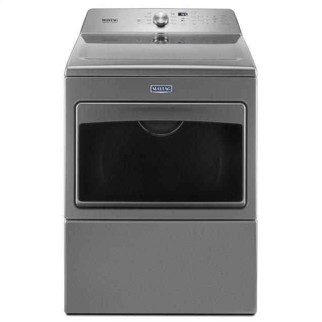 Maytag Large Capacity Gas Dryer with IntelliDry® Sensor - 7.4 cu. ft. Metallic Slate