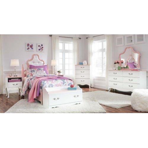 B212B2 in by Ashley Furniture in Orange, CA - Laddi - White/Pink 2 ...