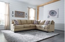 RAF Sofa w/Corner Wedge