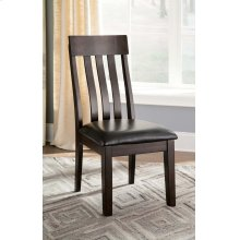 Haddigan - Dark Brown Set Of 2 Dining Room Chairs