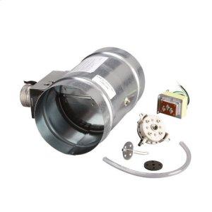 "Broan8"" Universal Automatic Make-Up Air Damper with Pressure Sensor Kit"
