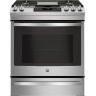 """30"""" Slide-In Front-Control Convection Gas Range"""