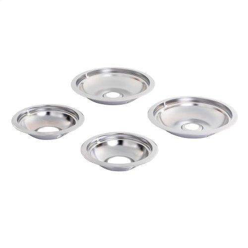 Round Electric Range Burner Drip Bowls
