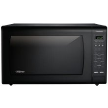 REFURBISHED 2.2 Cu. Ft Countertop Microwave Oven with Inverter Technology - Black - NN-SN968BT-RF