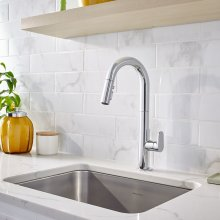 Beale Pull-Down Kitchen Faucet - Polished Chrome