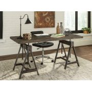 Deponte Weathered Gunmetal Adjustable Writing Desk Product Image
