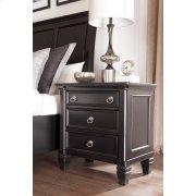 Three Drawer Night Stand Product Image