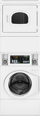 Stack Washer/Dryer Electric Coin-Operated Product Image