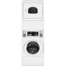 Stack Washer/Dryer Electric Coin-Operated