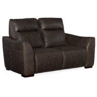 Living Room Athena Power Leather Motion Loveseat Product Image