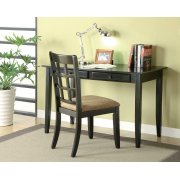 Casual Black Desk Set Product Image