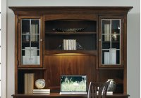 Home Office Latitude Computer Credenza/Desk Hutch Product Image