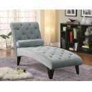 Transitional Grey Chaise Product Image
