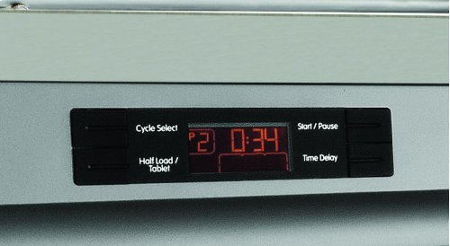 Tall Tub dishwasher 5 cycle front control white 49 dBA