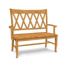 XX Back Bench w/ arms