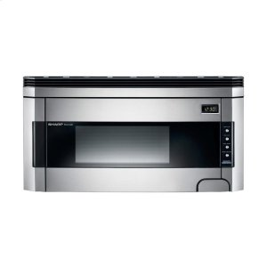 Sharp Appliances1.5 cu. ft. 1000W Sharp Stainless Steel Over-the-Range Carousel Microwave Oven