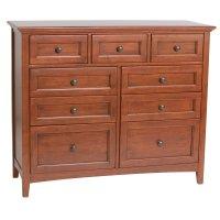 GAC 9-Drawer McKenzie Dresser Product Image