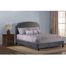 Lani Bed With Frame - King - Dark Gray