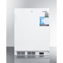 Built-in Undercounter ADA Compliant Laboratory Freezer Capable of -35 C (-31 F) Operation