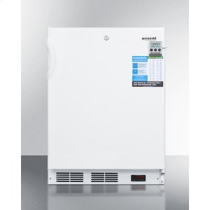 SummitBuilt-in Undercounter ADA Compliant Laboratory Freezer Capable of -35 C (-31 F) Operation