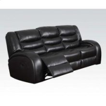 Black Bond Sofa W/motion @n