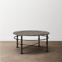 Verona Metal Round Cocktail Table