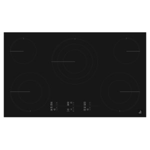 "Jenn-AirOblivian Glass 36"" Electric Cooktop With Glass-Touch Electronic Controls Black"
