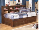 Delburne - Medium Brown 4 Piece Bedroom Set Product Image