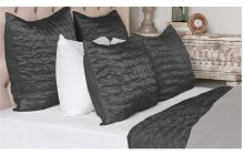 Aura Charcoal 3pc Queen Set