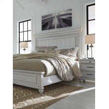 Kanwyn - Whitewash 3 Piece Bed Set (Cal King)