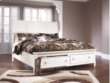 Prentice - White 3 Piece Bed Set (Cal King)