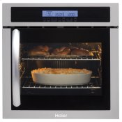 "24"" Single 2.0 Cu. Ft. Right-Swing True European Convection Oven"