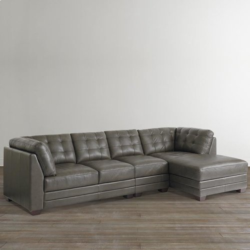 Chaise on Right/Affinity Espresso Affinity Right Chaise Sectional