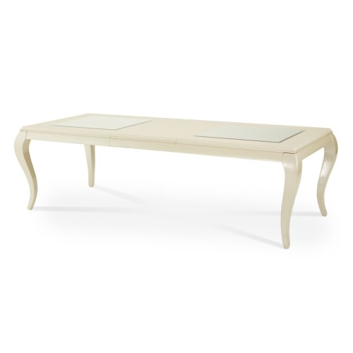 Pearl Croc 4 Leg Rectangular Dining Table