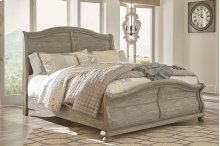 Marleny - Gray/Whitewash 3 Piece Bed Set (Cal King)
