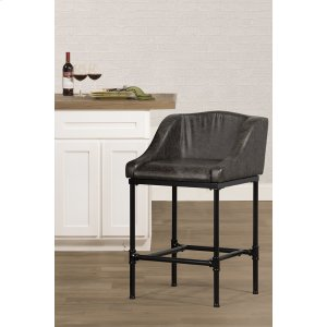 Hillsdale FurnitureDillon Stationary Bar Stool - Matte Black