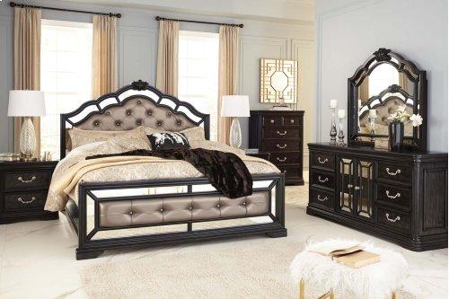 Quinshire - Dark Brown 3 Piece Bed Set (King)