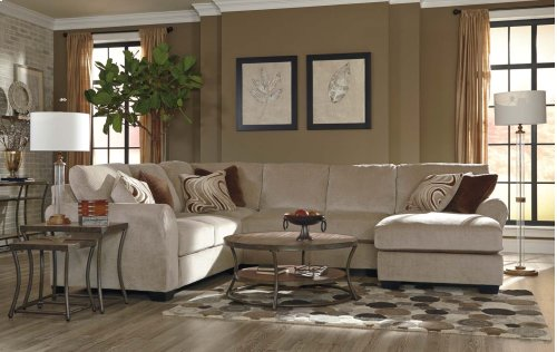 Hazes - Fleece 4 Piece Sectional