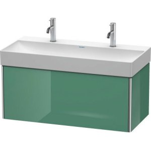 Vanity Unit Wall-mounted, For Durasquare # 235310jade High Gloss Lacquer