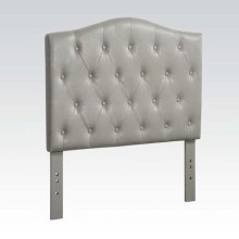 GRAY TWIN HEADBOARD