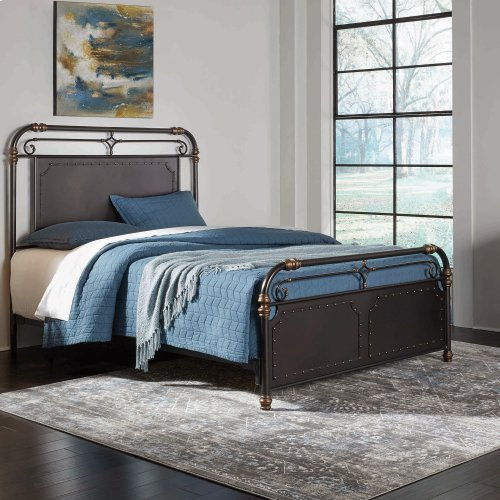 Westchester Complete Metal Bed, Queen