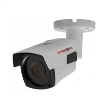 Manual Varifocal Bullet Camera POE IP 5MP - White
