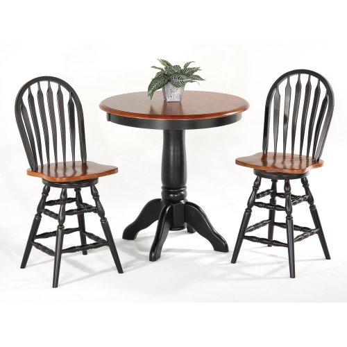 Solid Hardwood Pub Table
