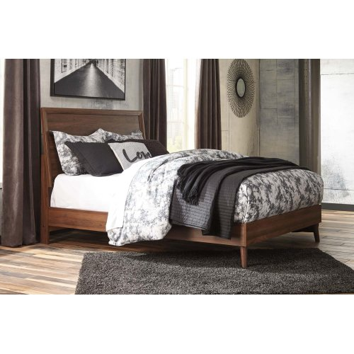 Daneston - Brown/Graphite 3 Piece Bed Set (Queen)