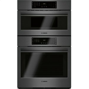 Bosch800 Series Combination Oven 30'' Black Stainless Steel HBL8743UC